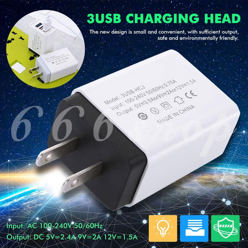 ★★★ Durable Smartphone Notebook Power Adapter Charger Quick Charge