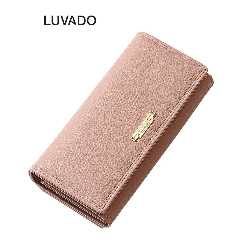 Ví nữ đẹp dáng dài cầm tay TAOMICMIC thời trang cao cấp nhiều ngăn đựng tiền LUVADO VD377