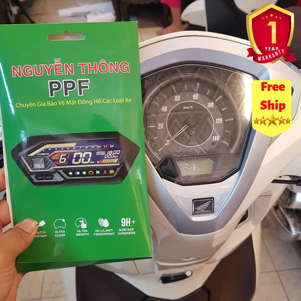 PPF Honda Lead 125 Miếng Dán PPF bảo vệ mặt đồng hồ xe honda lead 125