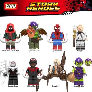 Thanh Lý Cả Bộ Người Nhện Thế Hệ Mới (Spider-Verse) Non-Lego Giá Cực Mềm