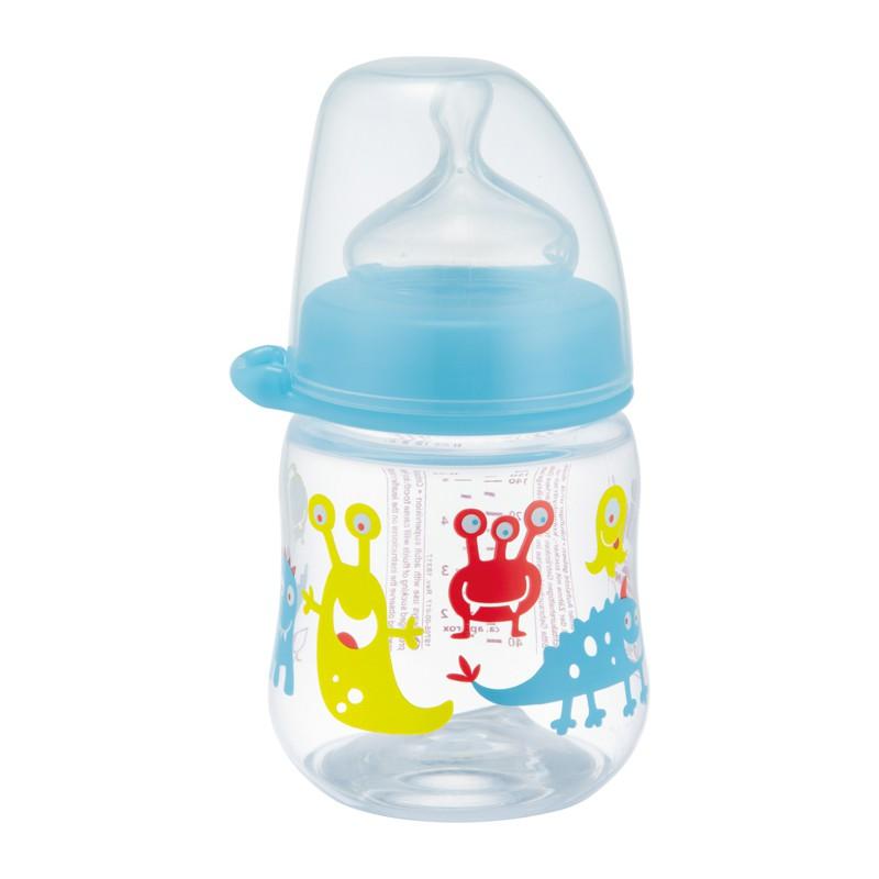 Bình sữa NIP35055 (Germany) PP cổ rộng 150 ml cho bé trai