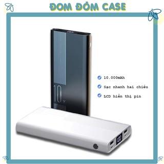PIN DỰ PHÒNG IBESKY P10L 10.000mAh LCD HIỂN THỊ DUNG LƯỢNG PIN , SẠC NHANH VÀ BỀN ( BẢO HÀNH 12 THÁNG )