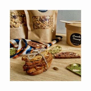 Bánh biscotti nguyên cám ăn kiêng – Mix 3 vị