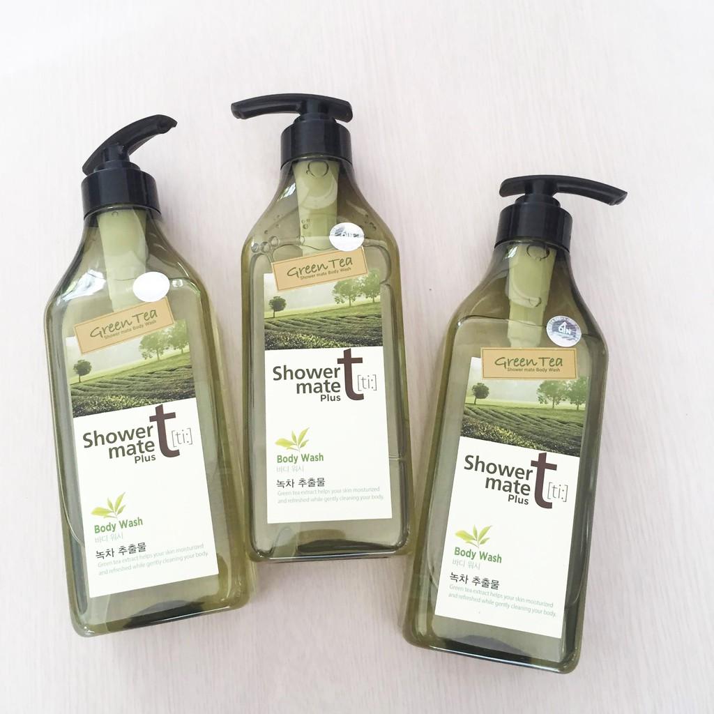 Sữa tắm trà xanh Shower Mate Green Tea: | Shopee Việt Nam