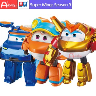 Super Wings New Mô hình đồ chơi robot biến hình mùa 9 cho trẻ em thumbnail