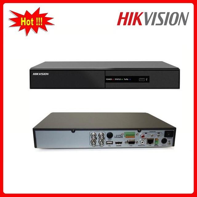 Đầu ghi hình 4 kênh HD-TVI Chuẩn H264 HIKVISION DS-7204HGHI-F1 - Chính hãng