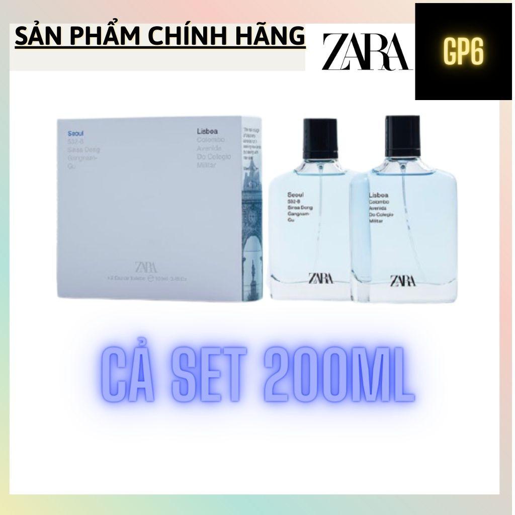 [Có tách set] Set nước hoa nam | SEOUL 100ML + LISBOA 100ML
