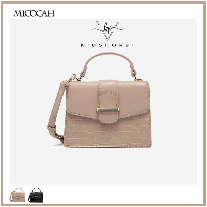 Túi xách nữ Micocah 👑FreeShip – Hàng Auth👑 Túi xách Micocah vân da rắn mã HSD248 (có sẵn)