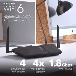 BỘ phát sóng Wifi6 từ sim 3G/4G/5G NETGEAR-LAX20