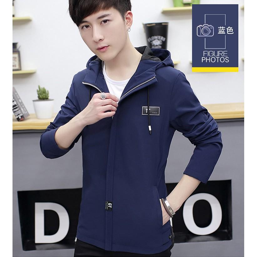 Áo khoác dù nam phong cách Hàn Quốc trẻ trung năng động