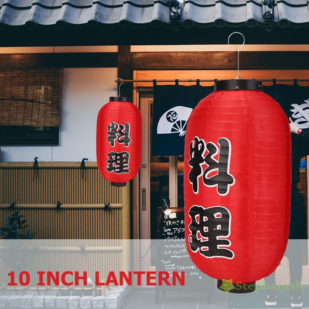Đèn Lồng 10 Inch Trang Trí Nhà Hàng / Quán Bar Phong Cách Nhật Bản