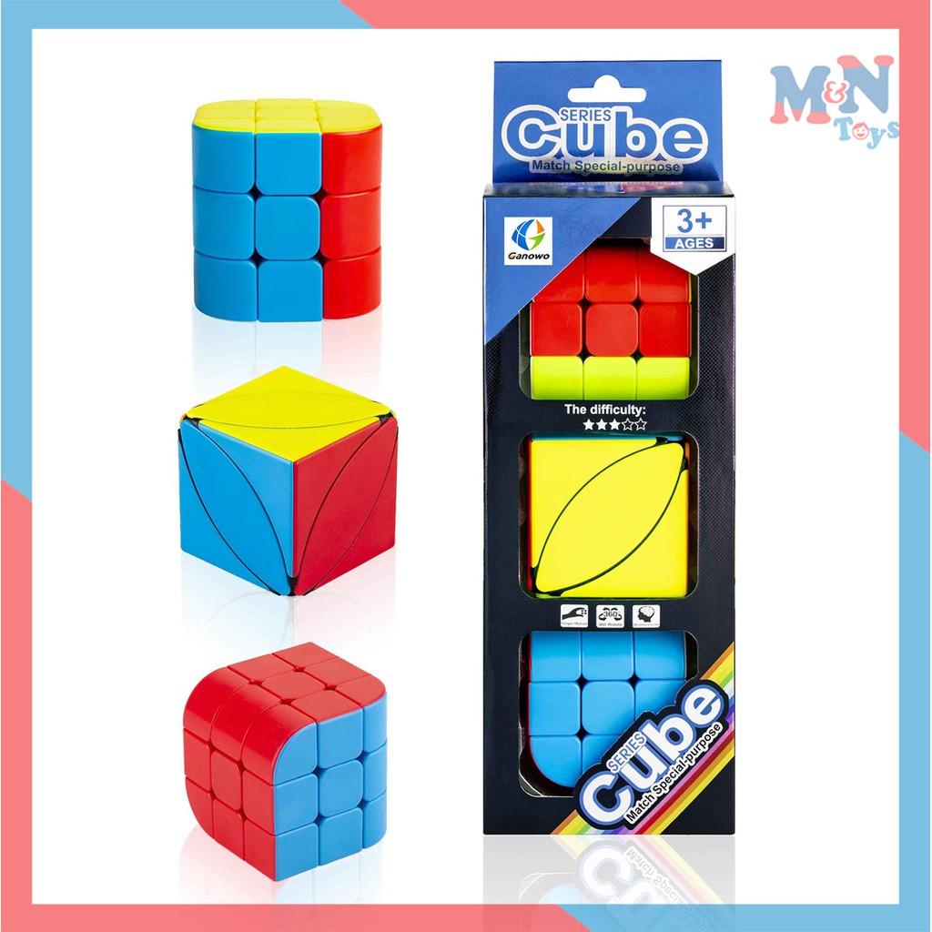 Bộ 3 khối Rubik biến thể FX7781- Rubic 3×3 rèn luyện tư duy