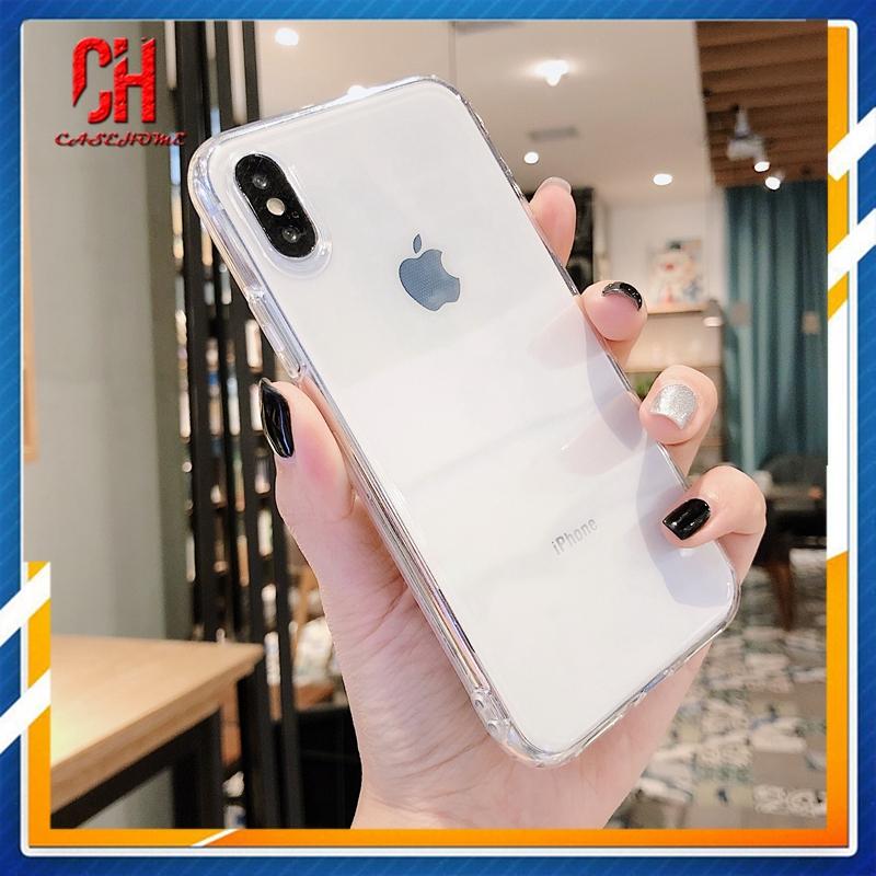 Ốp điện thoại silicon mềm cao cấp trong suốt màu trắng cho Realme C3 5i 6 C2 6i 7 5 C11 C12 5S C1 7i C15 C17 6S U1 C3i Narzo 20 PRO 10 10A 20A