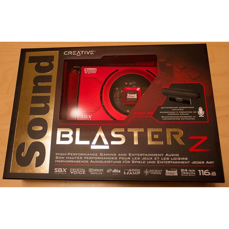 Card âm thanh Creative Sound Blaster Z (SB1500)