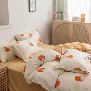 2021 new pro Skin wash cotton drap trải giường chăn bông bộ bốn mảnh trong ga gối 1.0 ba thumbnail