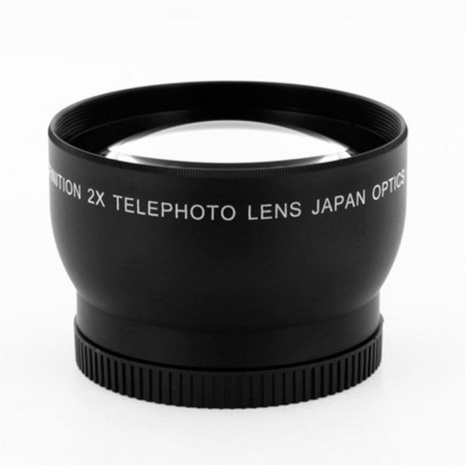 2.0x 52mm 58mm Telephoto Lens For Nikon D90 D80 D700 D3000 D3100 D3200 D5000