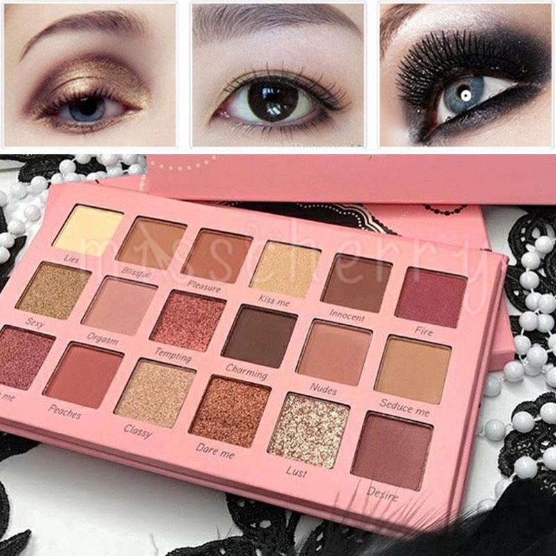 Bảng phấn mắt Beauty Creations 18 màu chống thấm nước và lâu trôi cao cấp thumbnail