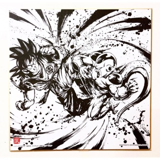 Tranh Picture Art Dragonball chính hãng Bandai Spirits: Goku vs Frieza