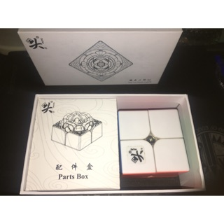 Dayan TengYun 2×2 M Stickerless có nam châm ( New 99% )