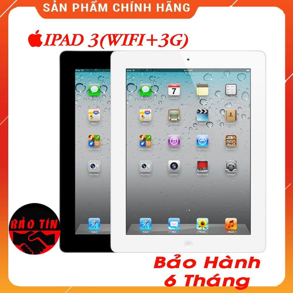 MÁY TÍNH BẢNG IPAD 3 RENTINA WIFI 3G 16/32/64GB ZIN ĐẸP CHẤT
