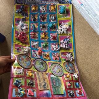 Vỉ pokemon thưởng (120 tem)
