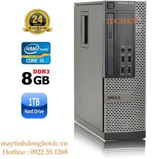 Case máy tính để bàn Dell Optiplex 7010 intel Core i5 3470, Ram 8gb, ổ cứng HDD 1TB, SSD 120GB. Hàng Nhập Khẩu. thumbnail