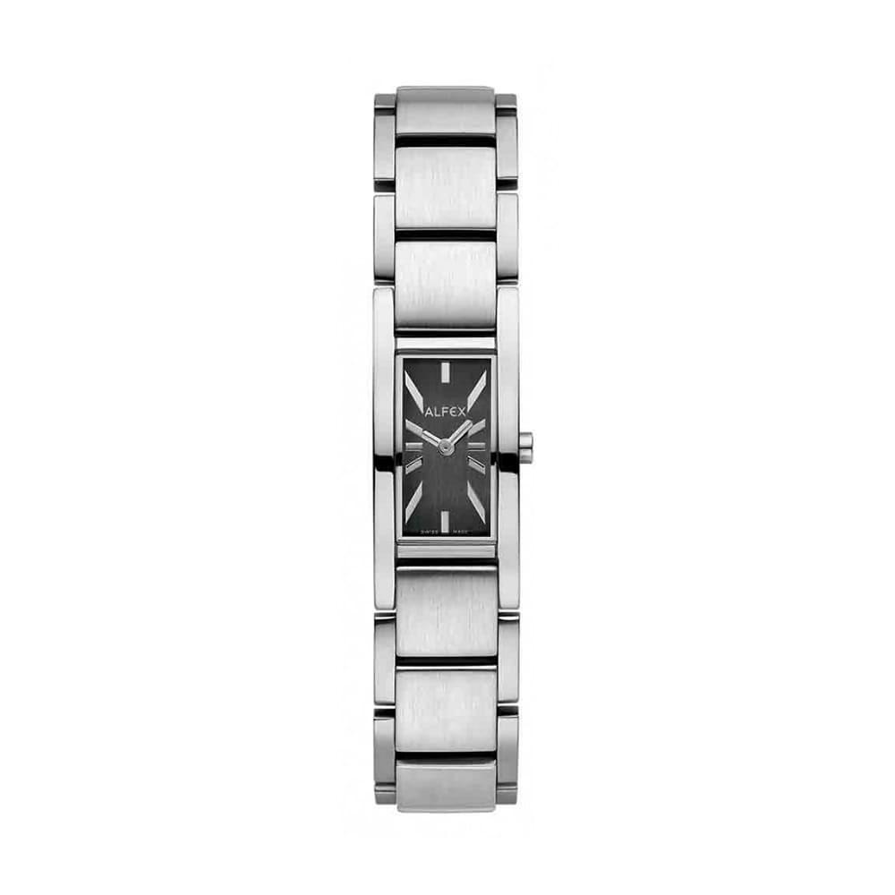 Đồng Hồ Thụy Sỹ Nữ ALFEX 5631/052 - Thời Trang Mặt Chữ Nhật Size 16×25 mm