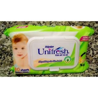 KHĂN GIẤY ƯỚT UNIFRESH 80 MIẾNG thumbnail