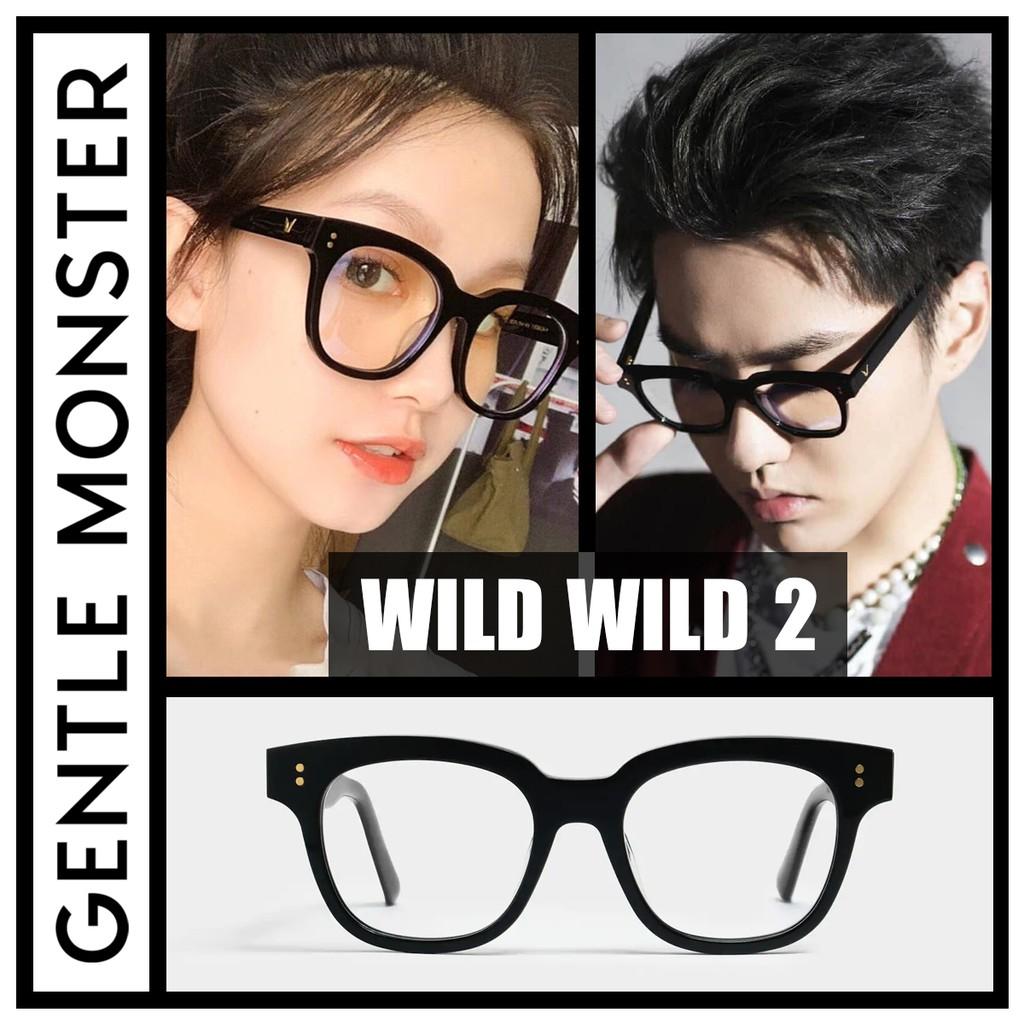 Gọng Kính Cận Nhựa Acetat Cao Cấp, chống tia UV,Gentle Monster Wild Wild (GM-19) - Gentle Monster_TM Bảo Hành 6 Tháng