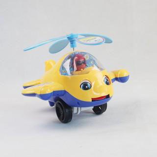 [HÀNG THẬT] Đồ chơi xe đẩy máy bay trực thăng – Bibo 223