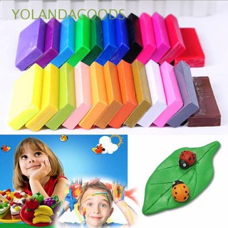 🍊32/24/12/10 Mixed Colors Creative Soft Oven Bake DIY Toys Moulding Fimo Clay