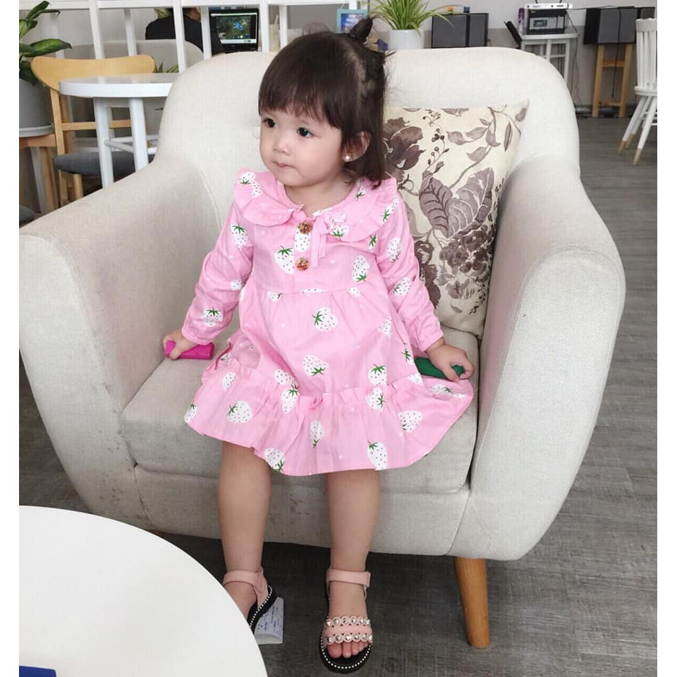 Váy thô kate cho bé gái