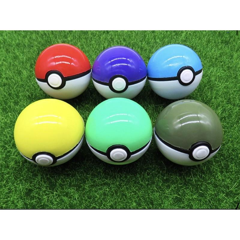quả bóng nhựa đồ chơi pokemon cho bé