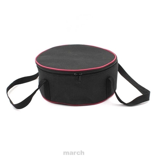 Portable Outdoor Hiking Round Climbing Practical Barbecue Picnic Oxford Fabric Camping Cookware Storage Bag
