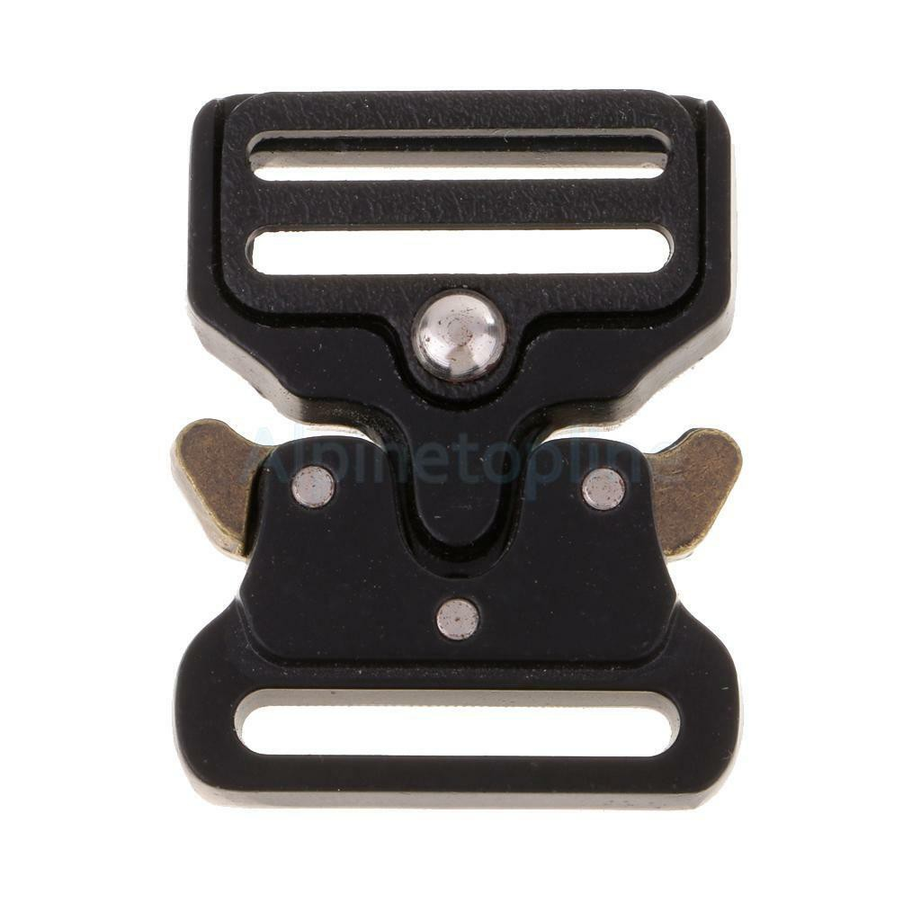 25/32/38/45mm Duty Quick Side Release Metal Buckles for Bags Luggage Webbing