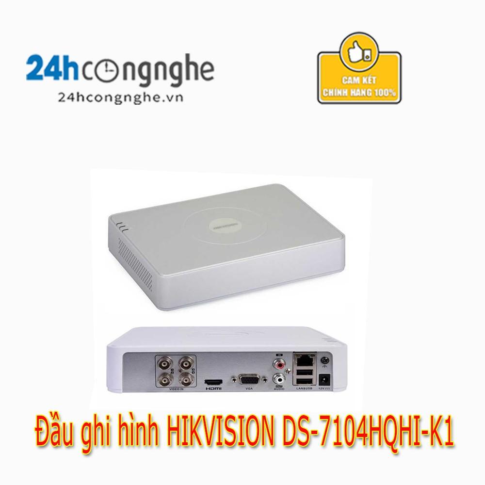 ĐẦU GHI DS-7104HQHI-K1 (TURBO 4.0 3Mpx) Chính Hãng