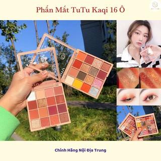 Phấn Mắt TUTU KAQI Color Palette 16 Ô Chính Hãng Nội Địa