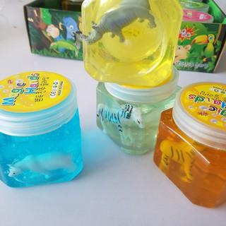 chất nhờn đồ chơi cho bé slime thú rừng mã NUE44 V( full box )