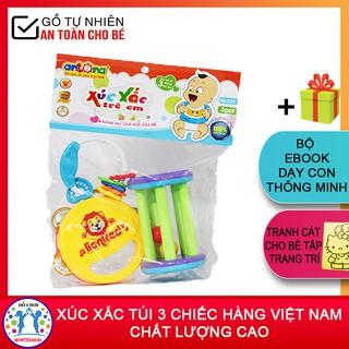 Xúc Xắc Túi 3 Chiếc Hàng Việt Nam An Toàn Cho Bé