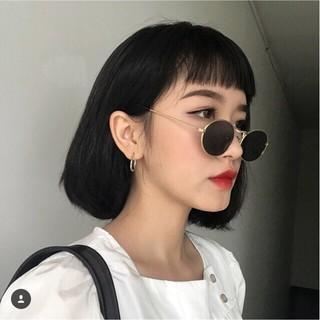Kính râm thời trang tròn thầy bói tin hin phong cách Ulzzang Hàn Quốc