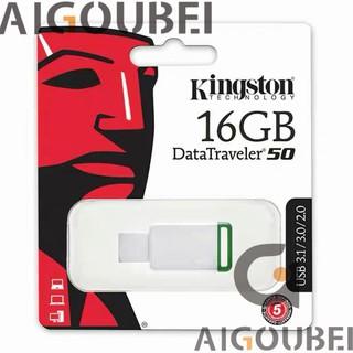 [Spot & COD] Ổ đĩa flash kim loại tốc độ cao Dt 50 Ổ đĩa flash USB 16 Gb 3.1