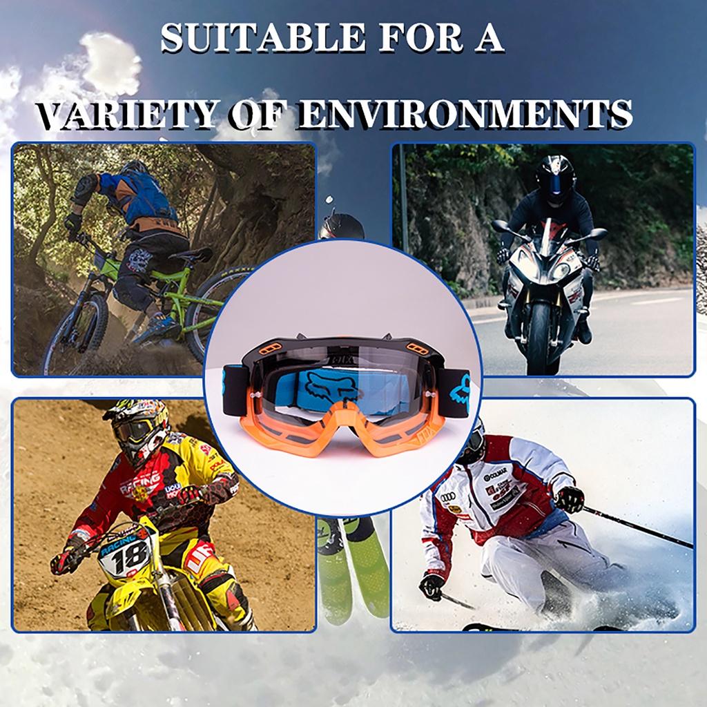Kính bảo hộ chống sương mù/chống gió/chống trầy có thể điều chỉnh 380