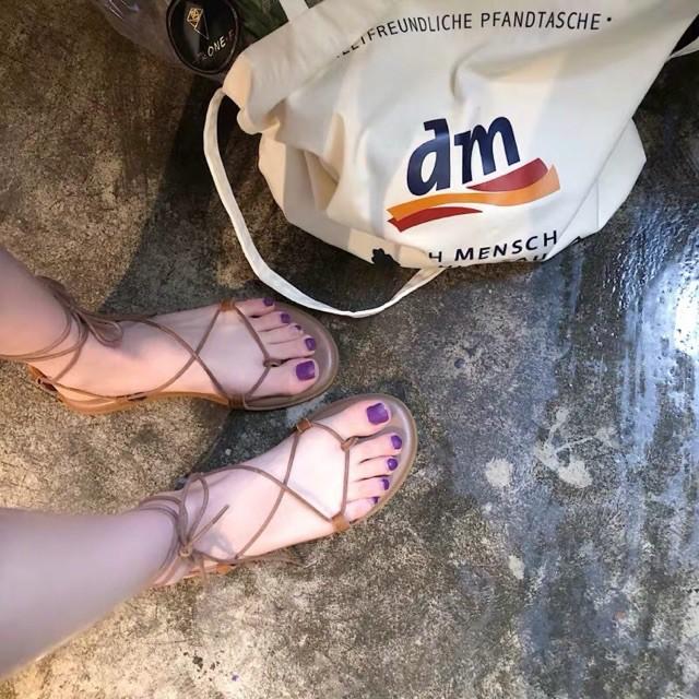 [ORDER] Sandal nữ đi biển đan dây xinh