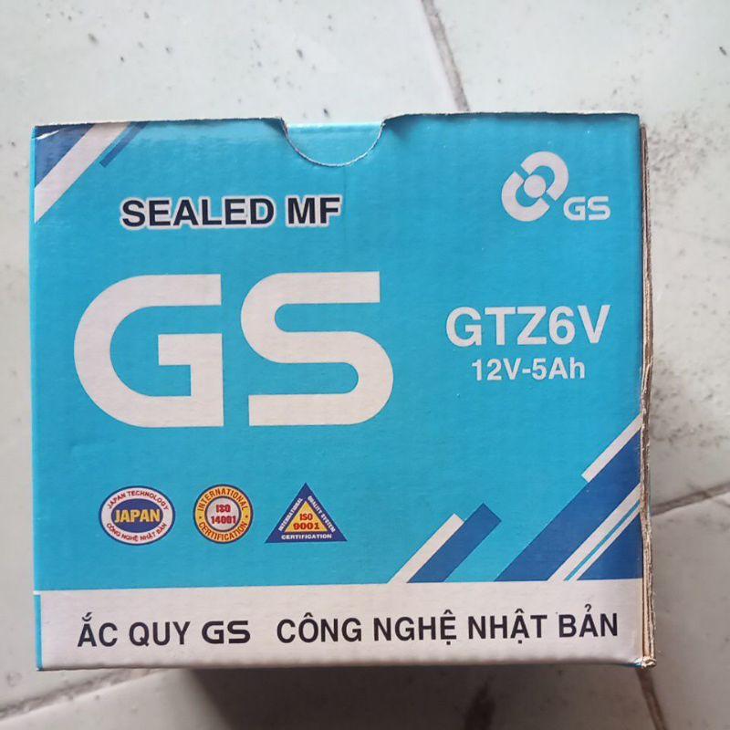 Ac quy xe máy GS GTZ6v