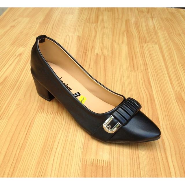 Sale giày bít mũi gót 4 phân - 2794604 , 1173388346 , 322_1173388346 , 58000 , Sale-giay-bit-mui-got-4-phan-322_1173388346 , shopee.vn , Sale giày bít mũi gót 4 phân
