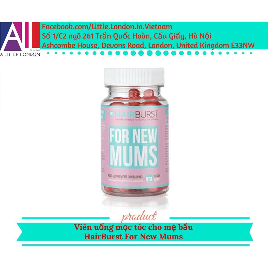 Viên uống mọc tóc cho mẹ bầu Hairburst For New Mums (Bill Anh) - 2924721 , 856130948 , 322_856130948 , 450000 , Vien-uong-moc-toc-cho-me-bau-Hairburst-For-New-Mums-Bill-Anh-322_856130948 , shopee.vn , Viên uống mọc tóc cho mẹ bầu Hairburst For New Mums (Bill Anh)