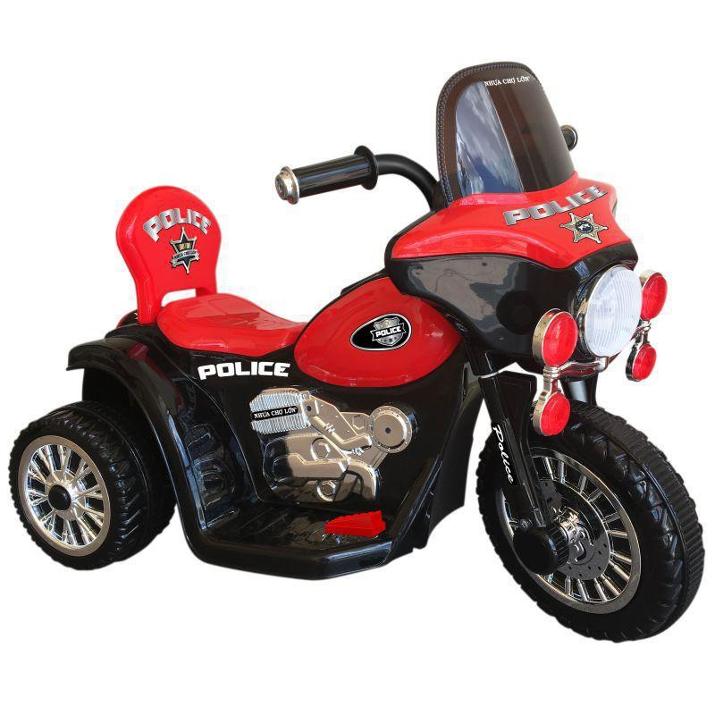 [ Nhập XELUC giảm thêm 50K nhé ] Xe đạp 3 bánh Nhựa Chợ Lớn Electric Motor Police One - M1732-X3B