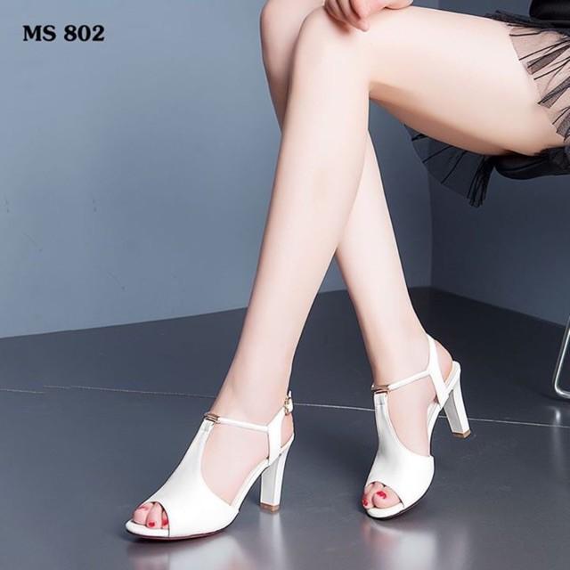 giày cao gót cá tính/freeship từ 150k/Sandal cao gót dễ thương