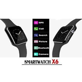 Đồng Hồ Thông Minh Màn Hình Cong SmartWatch S6 (Đen)