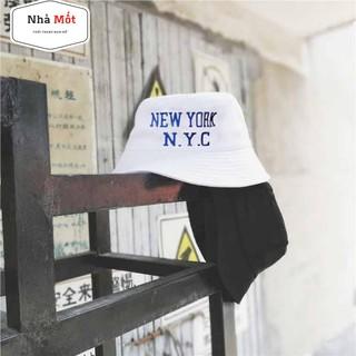 Nón Bucket New York City Mẫu Mới Unisex Cho Cả Nam Và Nữ